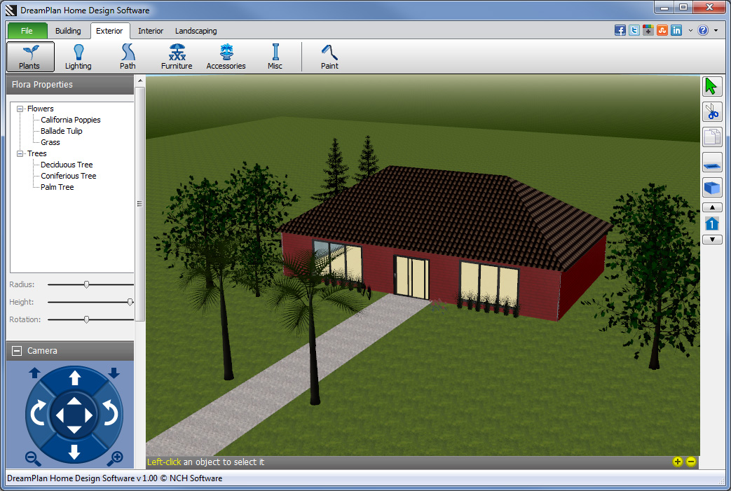 Download dreamplan home design software i download for Free 3d house design software online