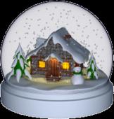 3D Christmas Snowball