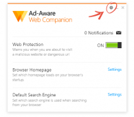 Ad-Aware Web Companion 3.1