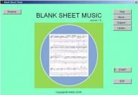 Blank Sheet Music 1.0