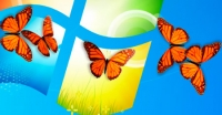 Butterfly On Desktop 1.0