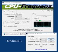 CpuFrequenz 3.66