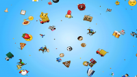 Emoji Rain Screensaver 1.0