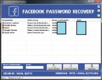 Facebook Password Recovery 1.0.0.0