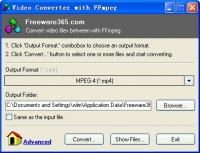 Video Converter with FFmpeg 1.1