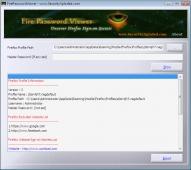 FirePasswordViewer 10.0