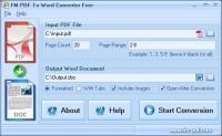PDF To Word Converter Free 1.1