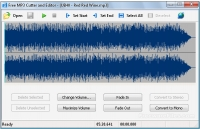 Free MP3 Cutter and Editor 2.8.0 Build 845