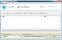 Free Video Volume Booster 2.0