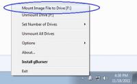 gBurner Virtual Drive 4.9