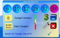 Mega Lotto Widget Gold 1.5.1.0