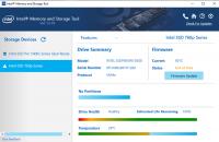 Intel Memory and Storage Tool 1.8.140
