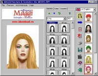 MAGGI-Hairstyles & Cosmetics Software