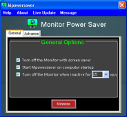 Monitor Power Saver 4.0