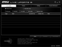 MSI Live Update 6.2.0.50