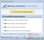 Mz Game Accelerator 1.1.0