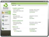NANO AntiVirus 0.30.26.70587 Beta