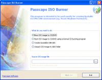 Passcape ISO Burner 2.1.1