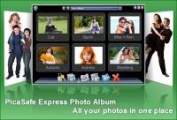 PicaSafe Express Photo Album 2.0