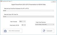 PowertPoint to 1080p Video 1.1