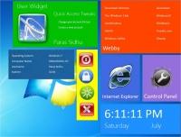 Windows 8 UI Widgets in Windows 7