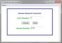 Roman Numeral Converter 1.1