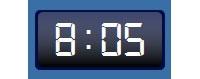Digital Clock GT-7 v2.1