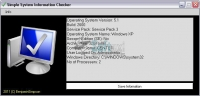 Simple System Information Checker 1.2