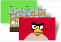 Angry Birds - tema Windows 7