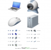 Computer Hardware Icon Set 1.0