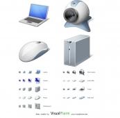 Computer Hardware Icon Set 1.0