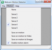 WebCam Motion Detector 1.1