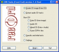 CDR Tools Front End