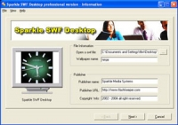 Sparkle SWF Desktop professional version