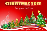 Animated Christmas Tree for Desktop 2015