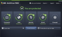 AVG AntiVirus Free 2016 Build 7160