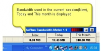 ShaPlus Bandwidth Meter 1.4.2