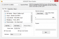 VOVSOFT Burn Studio 1.0