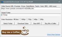 YoutubeVideoDownloader 1.4